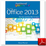 کتاب Teach Yourself VISUALLY Office 2013 ، نوشته Elaine Marmel
