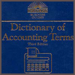 کتاب Dictionary of Accounting Terms ، ویرایش سوم