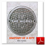 کتاب The works anatomy of a city ، نوشته Kate Ascher